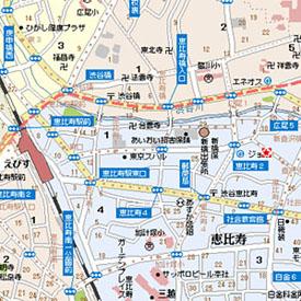 連JR站的地圖顯示