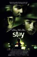 《Stay》電影海報