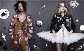 Comme des Garçons服裝+Judy Blame首飾 | from drezier's blog [JUDY BLAME的第五張空白畫布] dated 2006/8/19