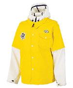 像內穿了Hooded衛衣外加油站工作服的Snowboard Jacket | from drezier's blog [2006-2007年冬季新裝] dated 2006/11/12