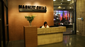 Magnum China - reception another view | from drezier's blog [Client's Headquarter in Guangzhou in Beijing] dated 2009/2/28