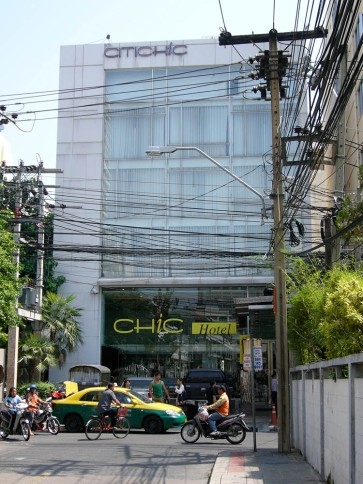 Hotel CHIC in Bangkok | from drezier's blog [Representing Client at South-East Asia Franchisee Conference] dated 2010/12/11