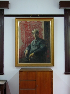 His drawing portrait :: Sha Menghai monument in Hangzhou | from drezier's blog [Part II: About 30s Chinese Style and Lifestyle] dated 2016/8/14