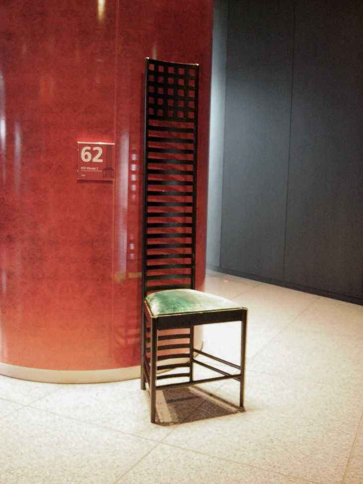 Charles Mackintosh's Hill House chair