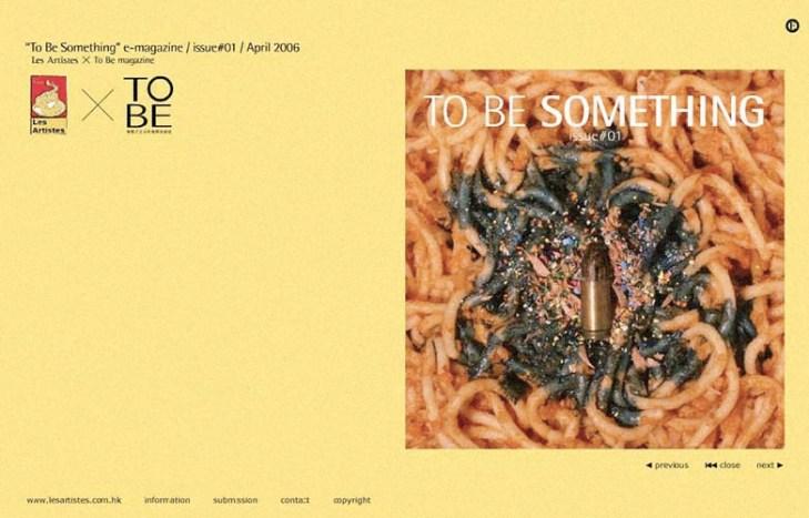 To Be Something e-magazine