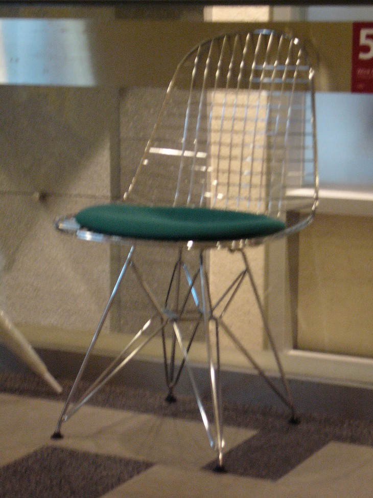 20th Century Masterpieces : : Wire Chair DKR