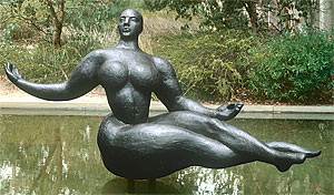 Gaston Lachaise's Floating Figure (1927)
