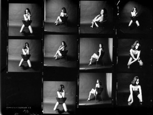 """Photos of Christine Keeler"" ^ Copyright © Victoria and Albert Museum, London/Lewis Morley"