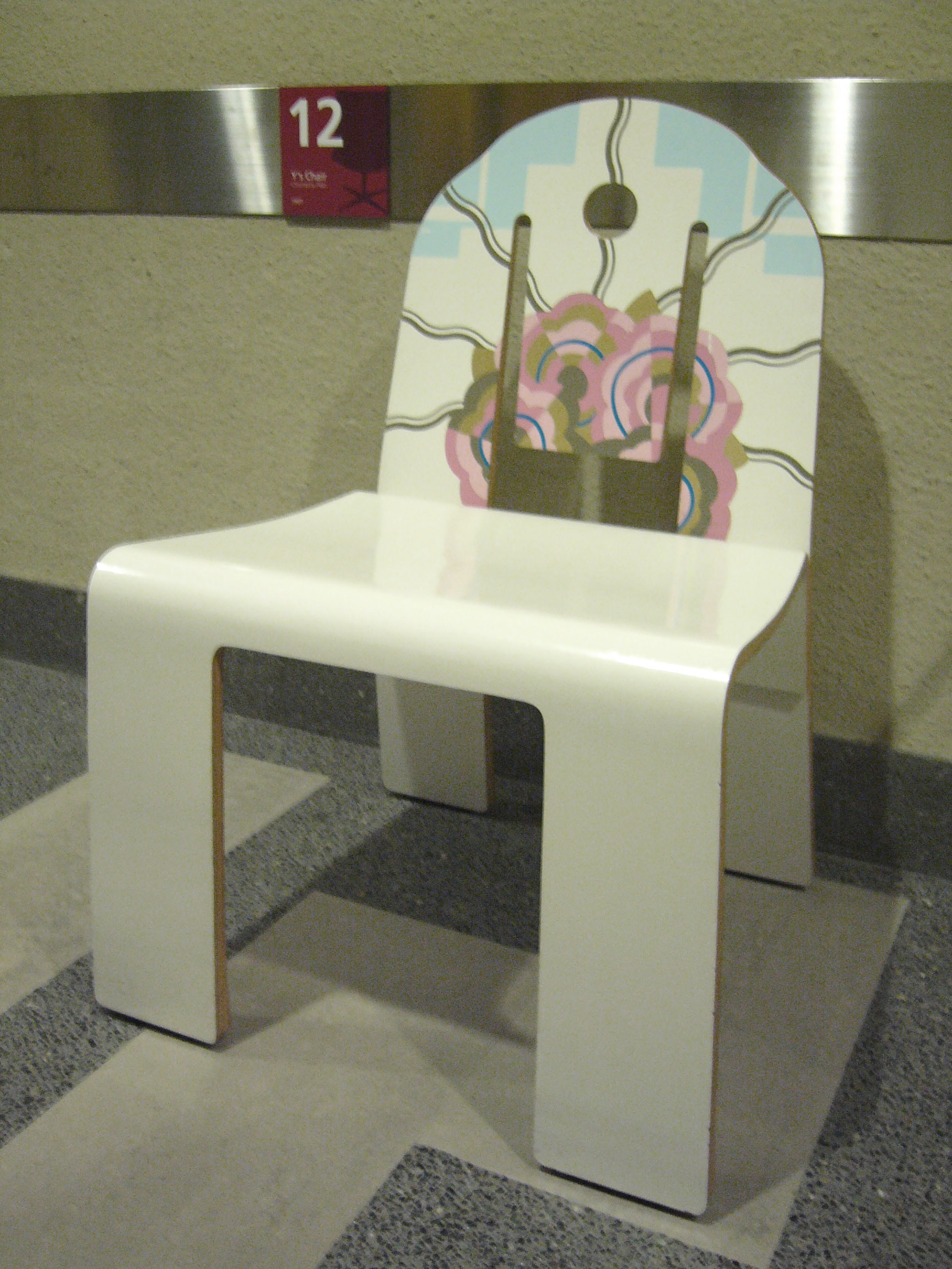 20th Century Masterpieces : : Art Deco 665 Chair by Robert Venturi, 1978 | from drezier's blog [20th Century Masterpieces : : Art Deco 665 Chair] dated 2017/8/22